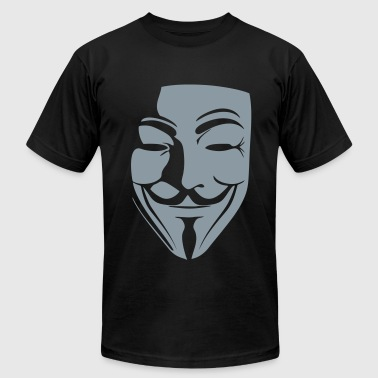 V for Vendetta - Men's Fine Jersey T-Shirt