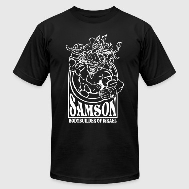 Samson. Bodybuilder - Men's Fine Jersey T-Shirt