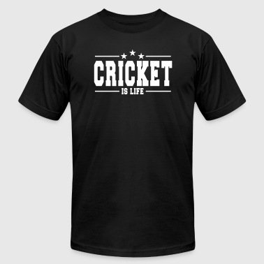 cricket is life 1 - Men's Fine Jersey T-Shirt