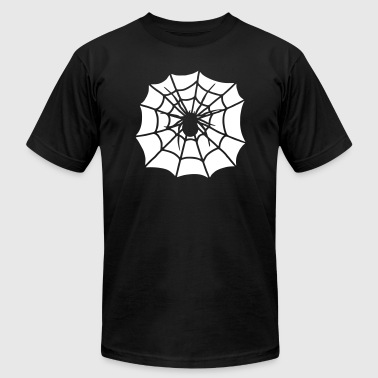 Spider in cobweb  - Men's Fine Jersey T-Shirt