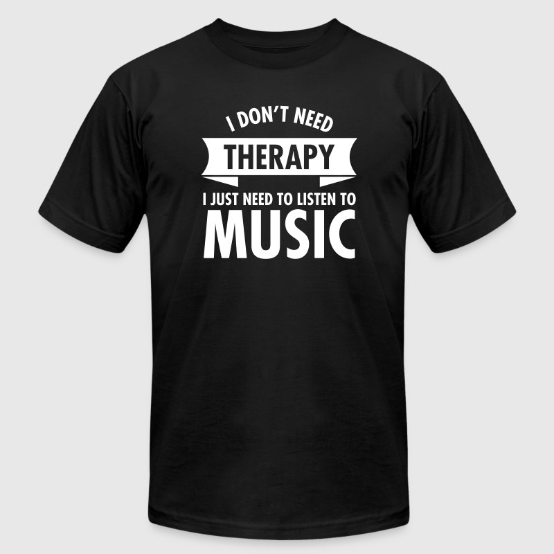 Therapy - Music - Men's Fine Jersey T-Shirt