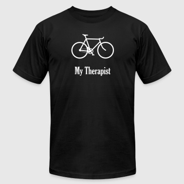 my therapist - Men's Fine Jersey T-Shirt