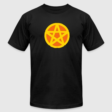 Halloween Pentagram - Men's Fine Jersey T-Shirt