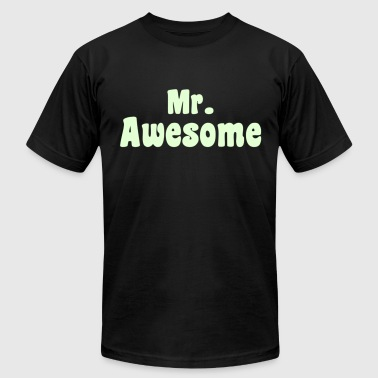 Mr. Awesome - KCCO - Men's Fine Jersey T-Shirt
