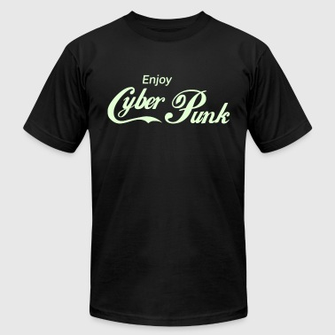 Enjoy Cyber Punk - Men's Fine Jersey T-Shirt