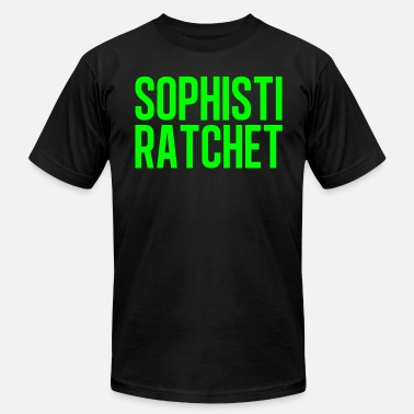 Ratchet Ghetto Ratchet Neon Green - Men's Fine Jersey T-Shirt