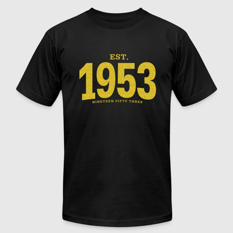 est. 1953 Nineteen Fifty Three - Men's Fine Jersey T-Shirt