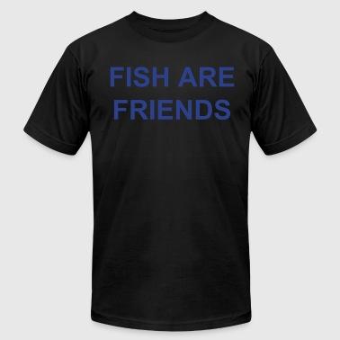 FISH ARE FOOD! - Men's Fine Jersey T-Shirt