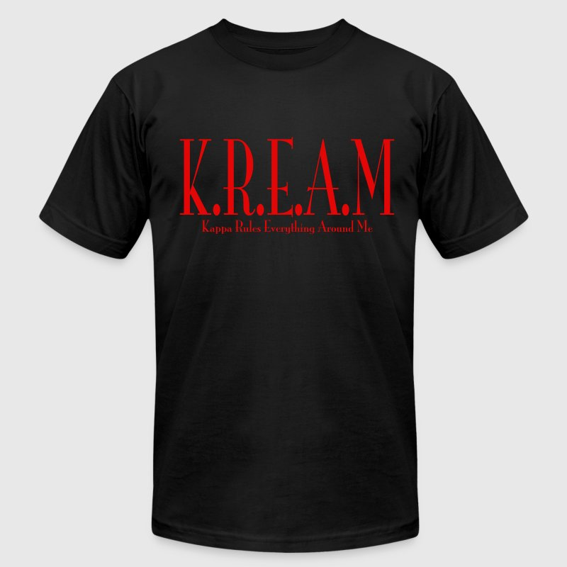 K.R.E.A.M Red - Men's Fine Jersey T-Shirt
