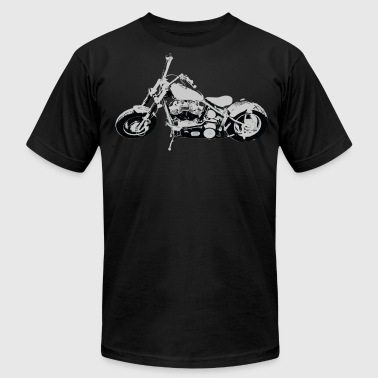 Vector Bike Bike - Men's Fine Jersey T-Shirt