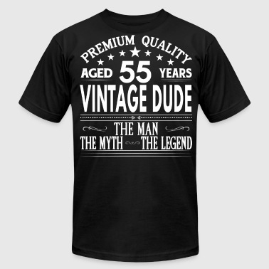 Vintage 1962 VINTAGE DUDE AGED 55 YEARS - Men's Fine Jersey T-Shirt