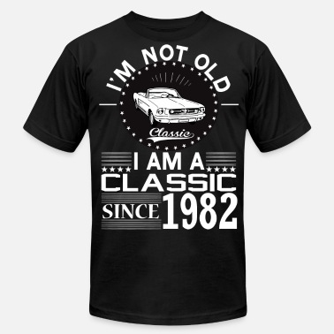 1982 Classic since 1982 - Men's Fine Jersey T-Shirt