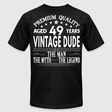 VINTAGE DUDE AGED 49 YEARS - Men's Fine Jersey T-Shirt