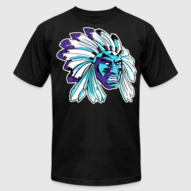 JORDAN5BLACKGRAPEAPACHE.png - Men's Fine Jersey T-Shirt