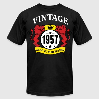 1957 Aged To Vintage 1957 Aged to Perfection - Men's Fine Jersey T-Shirt