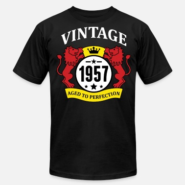 1957 Aged To Perfection Vintage 1957 Aged to Perfection - Men's  Jersey T-Shirt
