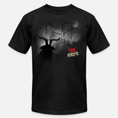 Black Metal Rare Horror Black Metal - Men's Fine Jersey T-Shirt