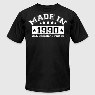 MADE IN 1990 ALL ORIGINAL PARTS - Men's Fine Jersey T-Shirt