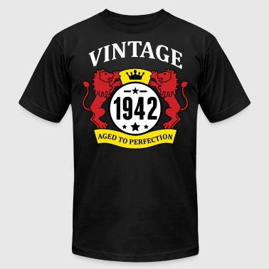 Vintage 1942 Aged to Perfection - Men's Fine Jersey T-Shirt