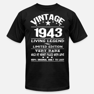 Birthday 1943 VINTAGE 1943 - Men's Jersey T-Shirt