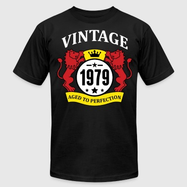Vintage 1979 Aged to Perfection - Men's Fine Jersey T-Shirt