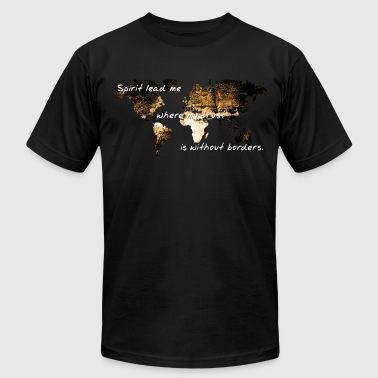 Trust Without Borders - Men's Fine Jersey T-Shirt