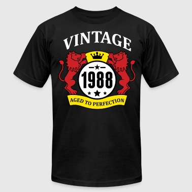 Vintage 1988 Aged to Perfection - Men's Fine Jersey T-Shirt