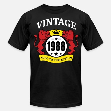 1988 Aged To Vintage 1988 Aged to Perfection - Men's Fine Jersey T-Shirt