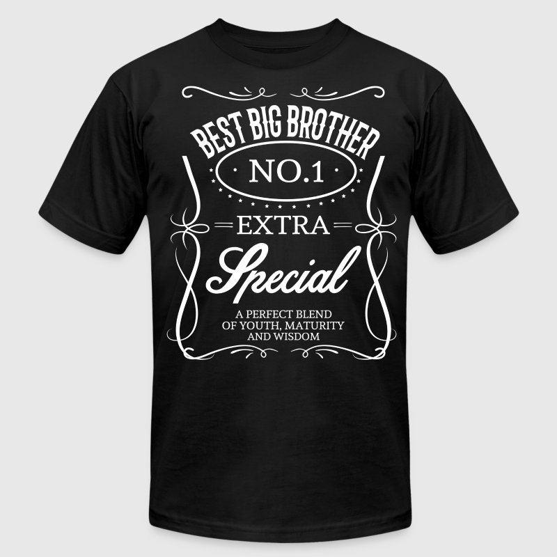 BEST BIG BROTHER - Men's Fine Jersey T-Shirt