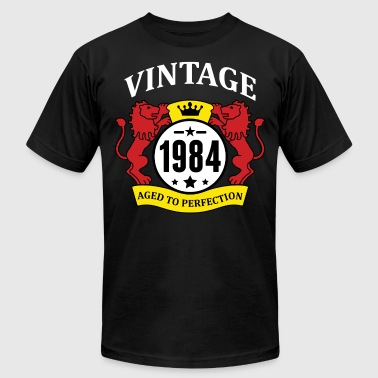 Vintage 1984 Aged to Perfection - Men's Fine Jersey T-Shirt