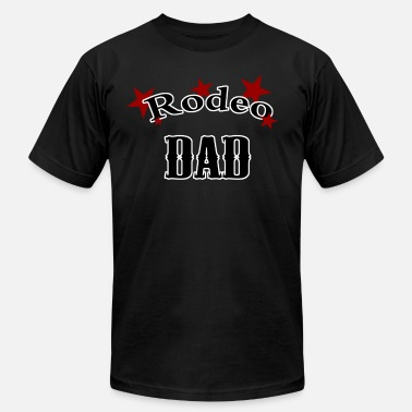Rodeo Dad rodeo dad - Men's  Jersey T-Shirt