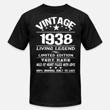 Made 1938 VINTAGE 1938 - Men's  Jersey T-Shirt