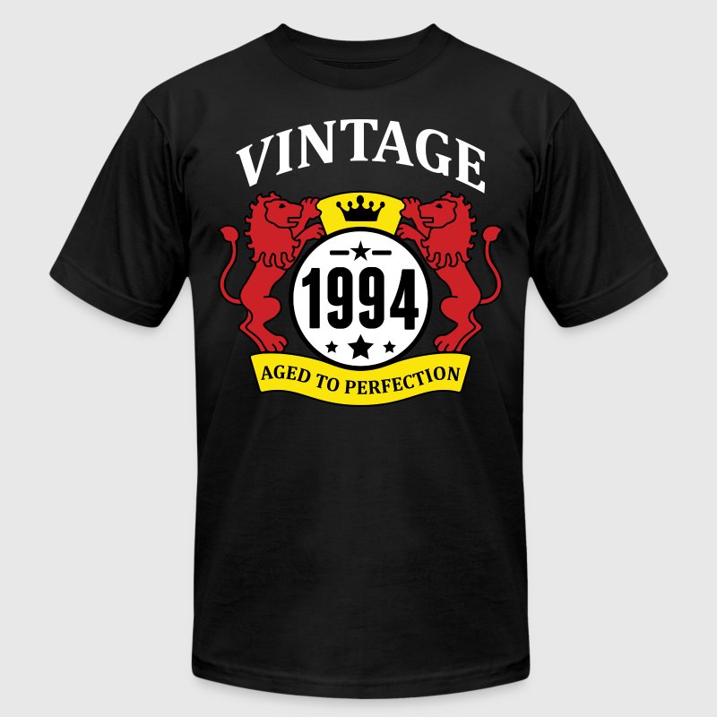 Vintage 1994 Aged to Perfection - Men's Fine Jersey T-Shirt
