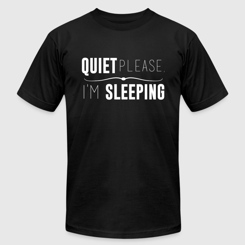 Quiet please, I'm sleeping - Men's Fine Jersey T-Shirt