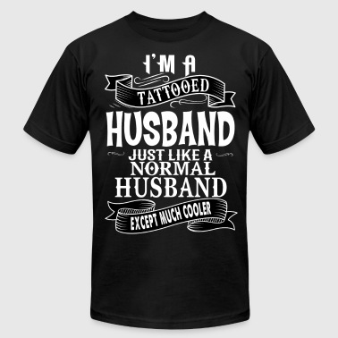 Tattooed Husband TATTOOED HUSBAND - Men's Fine Jersey T-Shirt