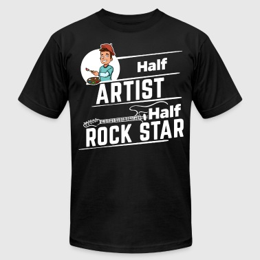Rock Star Family Artist - Half Rock Star - Men's Fine Jersey T-Shirt