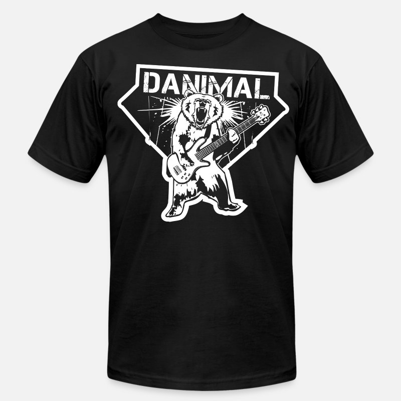 Cool T-Shirts - Danimal Pinson Music T-shirt - Men's Jersey T-Shirt black