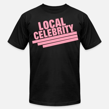 Local Celebrity LOCAL CELEBRITY - Men's Fine Jersey T-Shirt