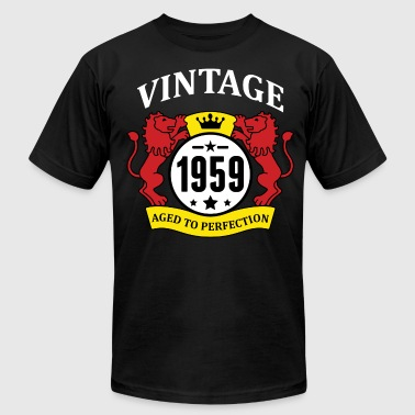 Vintage 1959 Aged to Perfection - Men's Fine Jersey T-Shirt