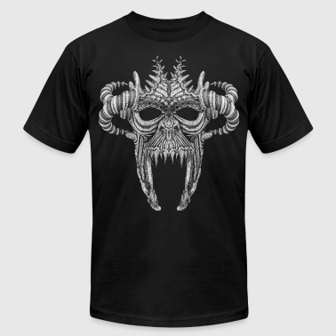 Skull Mask No.1B - Men's Fine Jersey T-Shirt