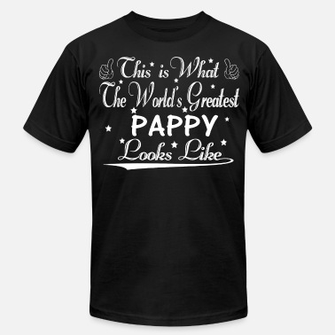 Worlds Greatest Pappy World's Greatest Pappy... - Men's  Jersey T-Shirt