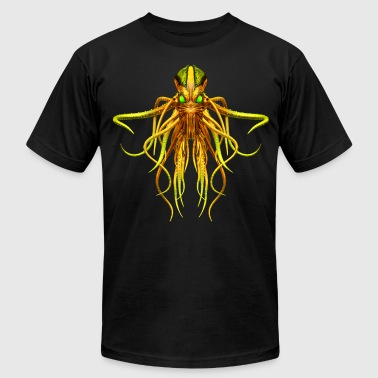 Cthulhu No.3 Men's Steampunk T-Shirts - Men's Fine Jersey T-Shirt