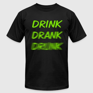 drink_drank_drunk_green - Men's Fine Jersey T-Shirt