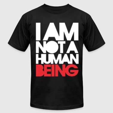 Humanities Not Human - Men's Fine Jersey T-Shirt