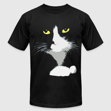 Black Cat - Men's Fine Jersey T-Shirt