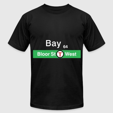 Ttc TTC Bay Street - White - Men's Fine Jersey T-Shirt