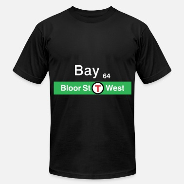 TTC Bay Street - White - Men's Fine Jersey T-Shirt