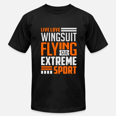 Wingsuit Flying Live Love Wingsuit Flying 2 - Men's  Jersey T-Shirt