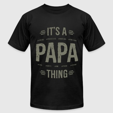 Gift for Papa - Men's Fine Jersey T-Shirt