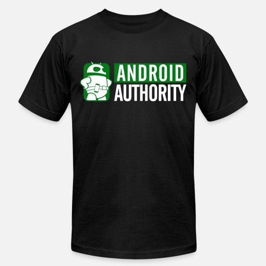 Android T-Shirts - AA Logo on Dark Items - Men's Jersey T-Shirt black